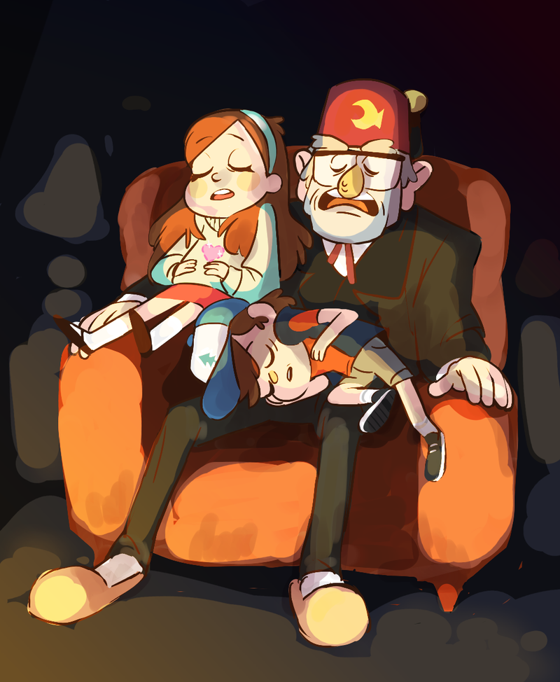 pines family | Gravity Falls | Know Your Meme