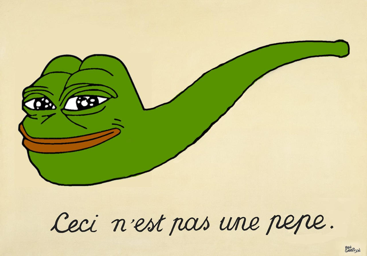 Ceci N est pas une pepe Pepe the Frog