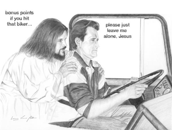 Was jesus an asshole