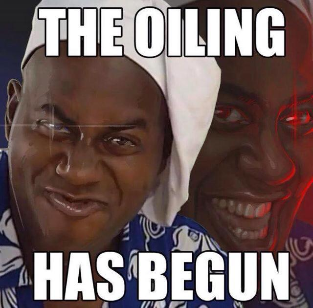 587 the oiling has begun ainsley harriott know your meme