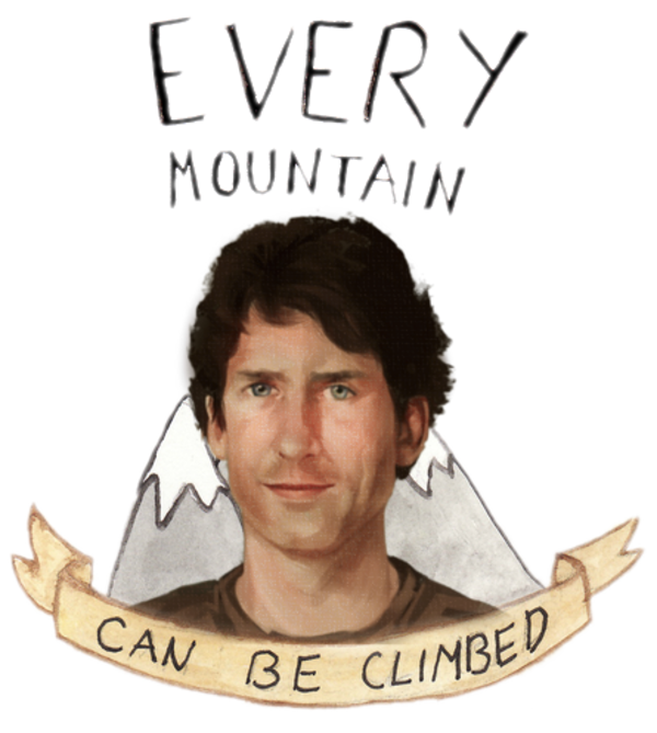 Every mountain can be climbed | Todd Howard | Know Your Meme