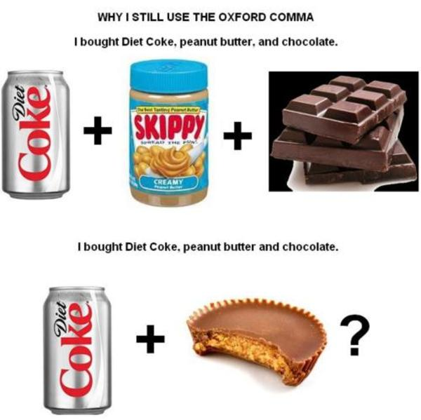 I Bought Diet Coke Peanut Butter And Chocolate Oxford