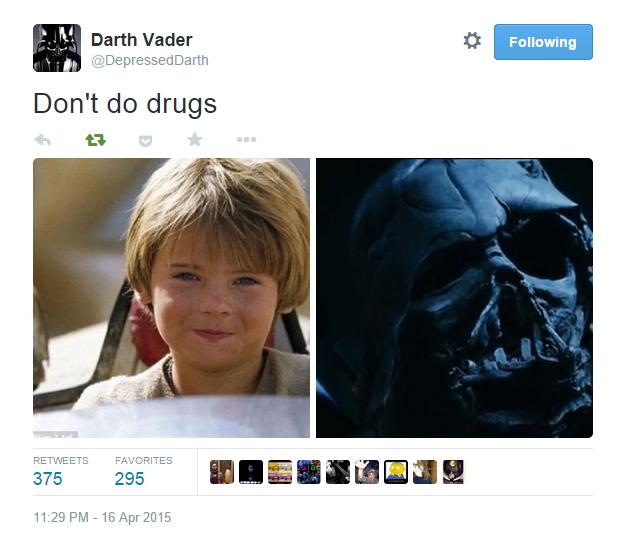 Star Wars Don't Do Drugs