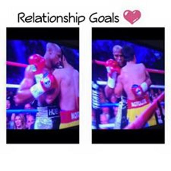 Relationship goals | Mayweather vs. Pacquiao | Know Your Meme