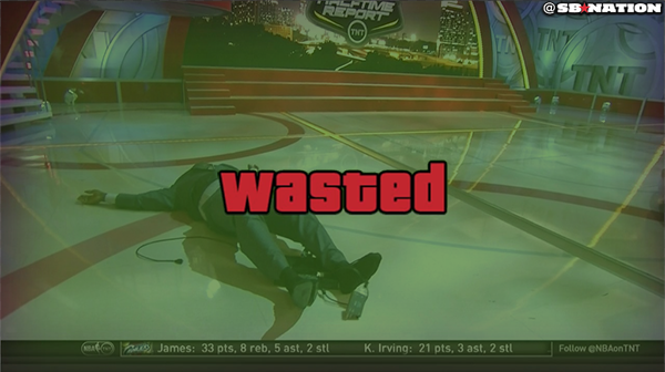 463 gta wasted shaquille o'neal's epic fall know your meme