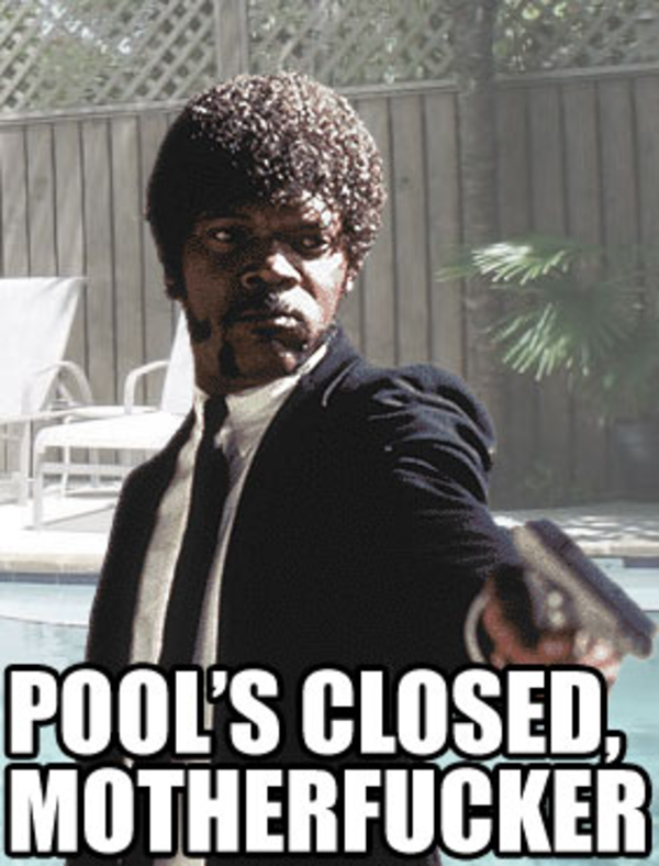 ff5 pool's closed image gallery know your meme,Pools Closed Meme
