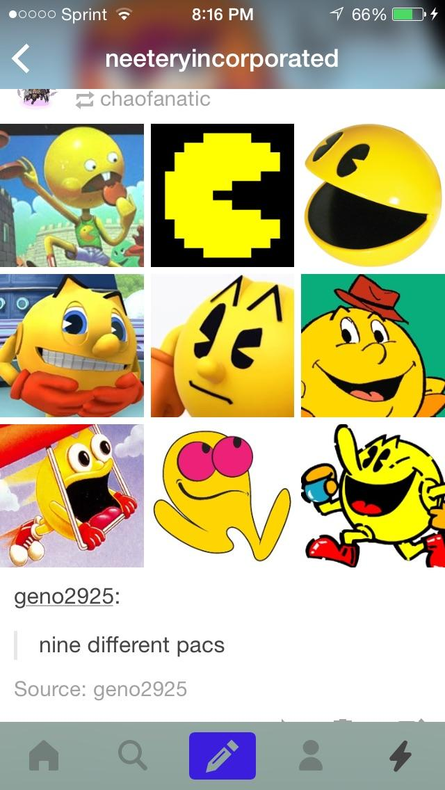 279 try and make an expand dong out of all 9 pacs pac man know your