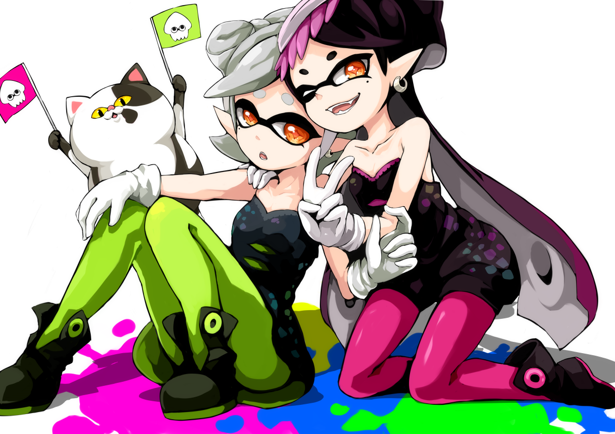 Callie And Marie Wallpaper: We're The Squid Sisters!