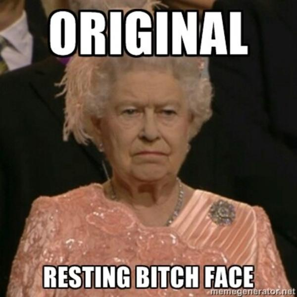 622 resting bitch face image gallery know your meme