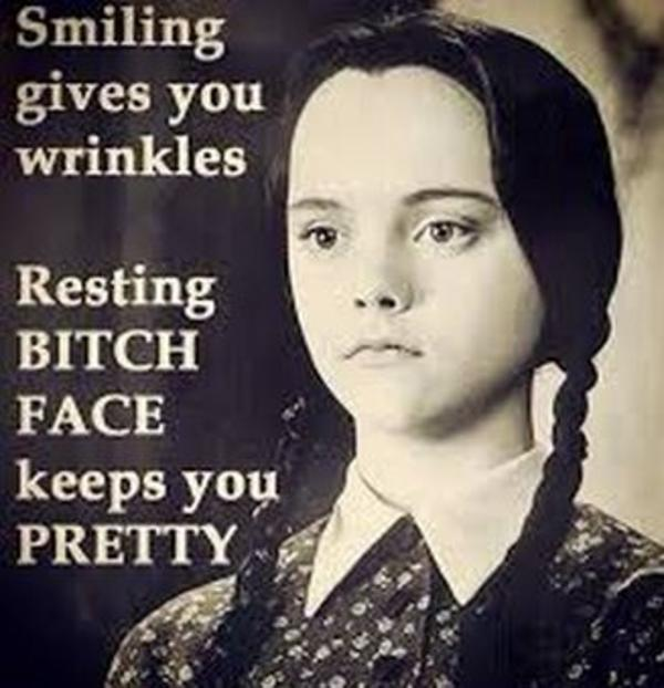 d94 resting bitch face image gallery know your meme