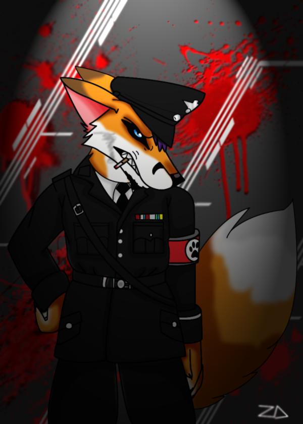 Nazi Fox Nazi Furries Know Your Meme