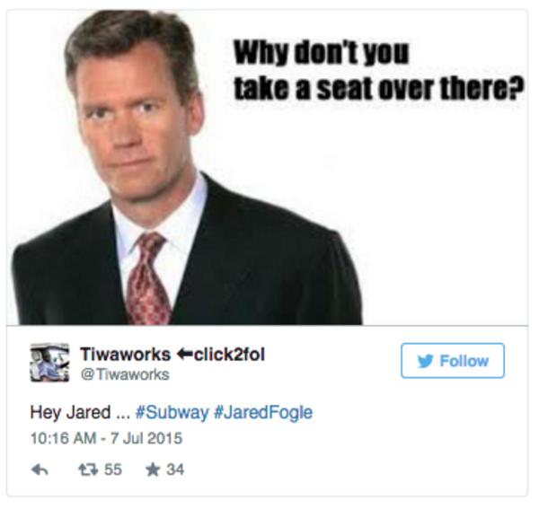 a3e jared fogle child porn investigation know your meme
