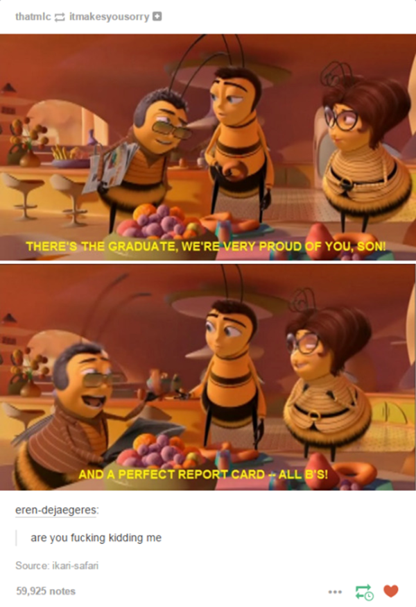 678 the perfect report card bee movie know your meme,Why Is Bee Movie A Meme