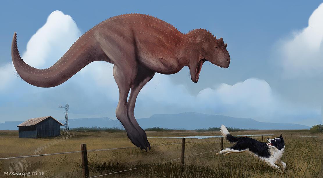 carnotaurus in video game