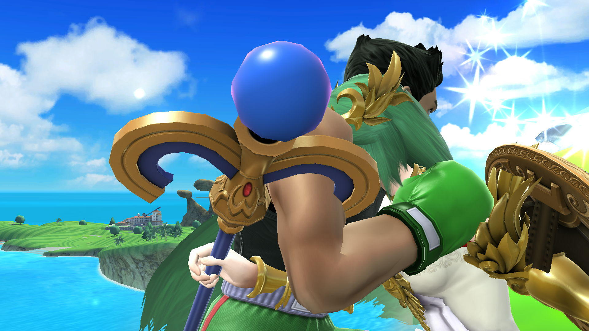 kid icarus uprising how to make palutena blade