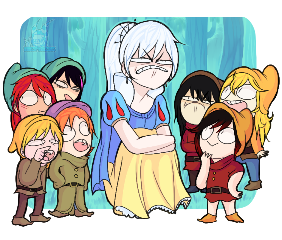 Weiss Schnee And The Seven Dolts Rwby Know Your Meme