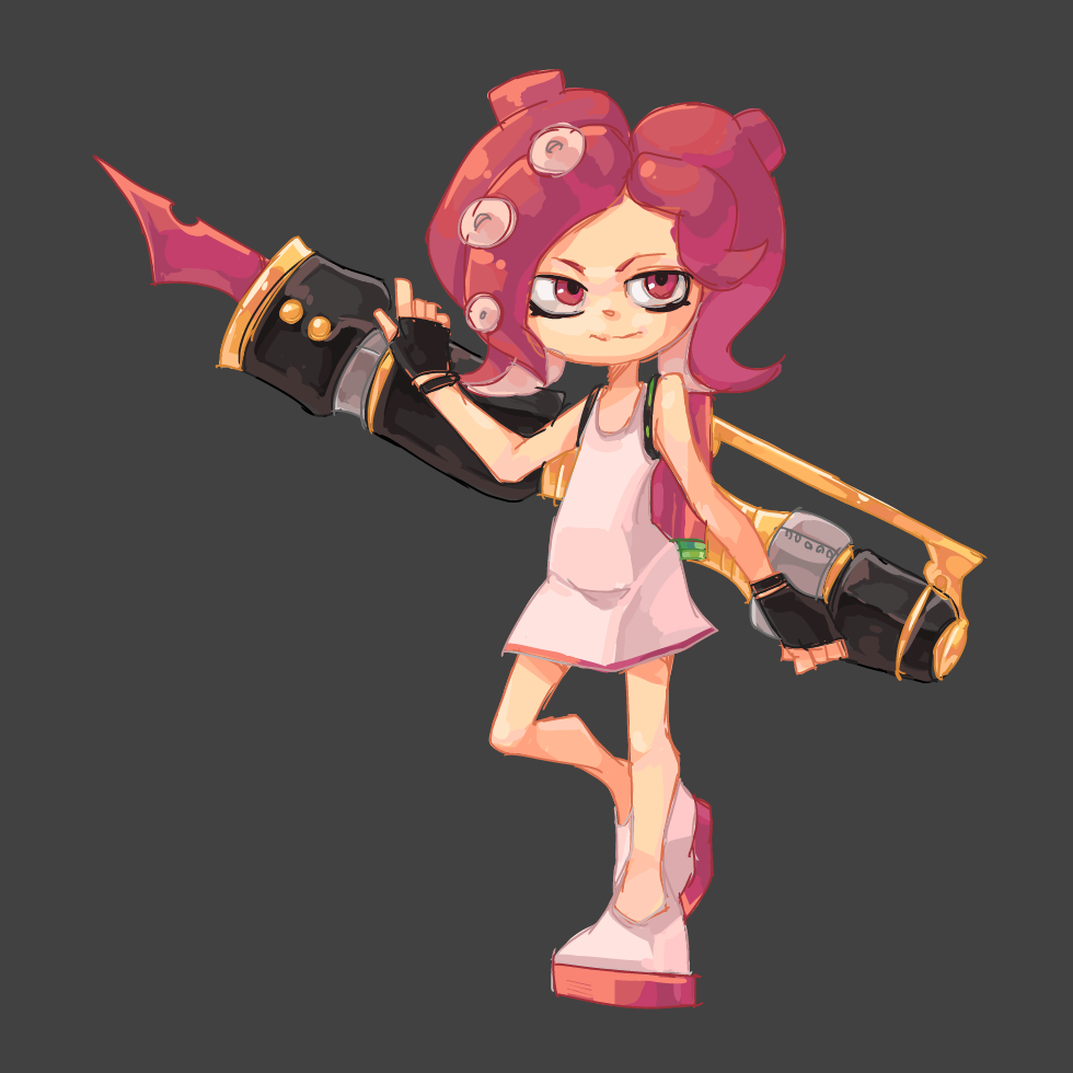 Octoling + Weapon 3