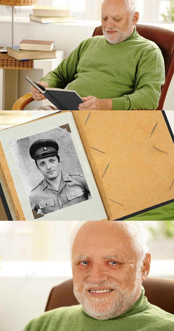 Hide The Pain Harold Memes