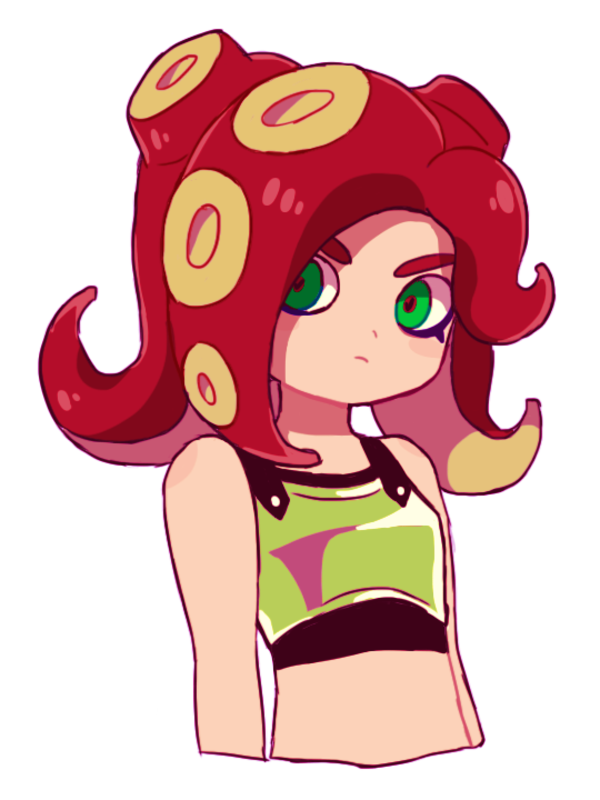 how to draw a splatoon octoling