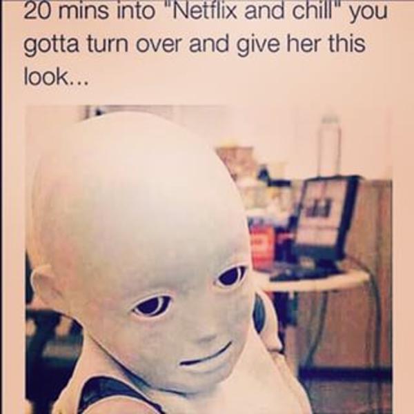 Netflix and chill blowjob - 1 1