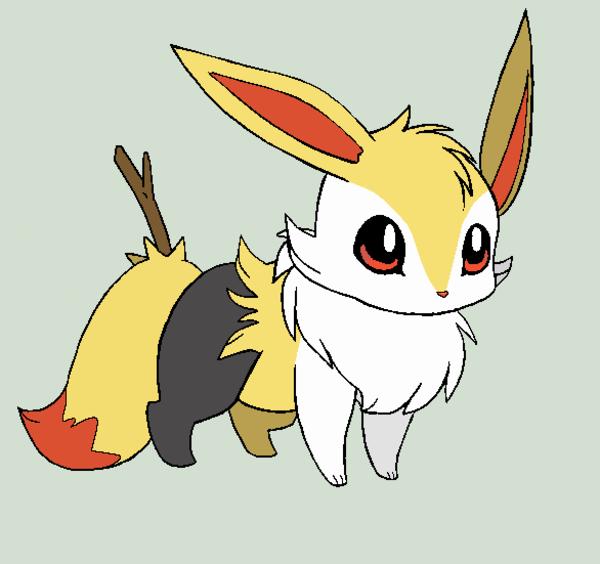 Braixen eevee pokefusion pokemon fusion know your meme - Cute pokemon fusions ...