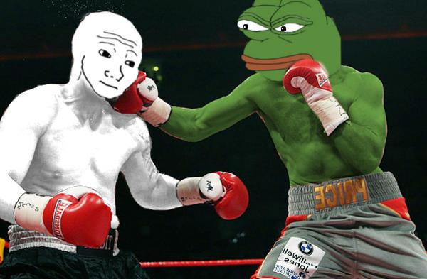 pepe vs wojak