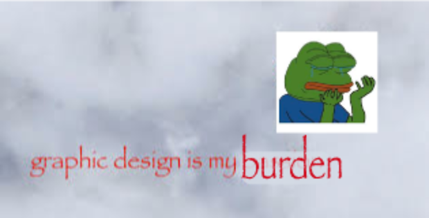 Graphic Design Is My Passion Frog