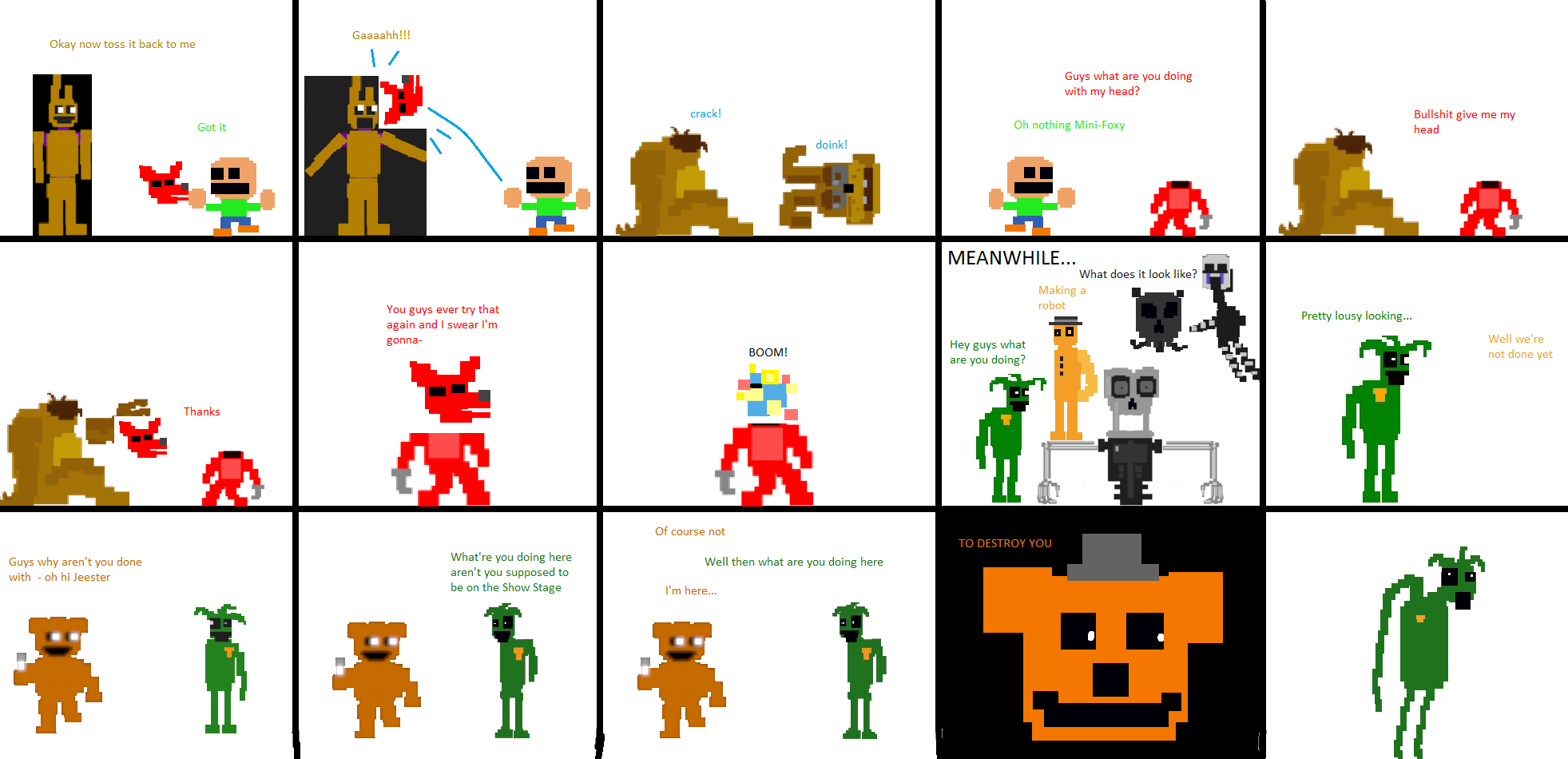Greenbelt Bowl ⁓ Try These Fnaf Art Maker