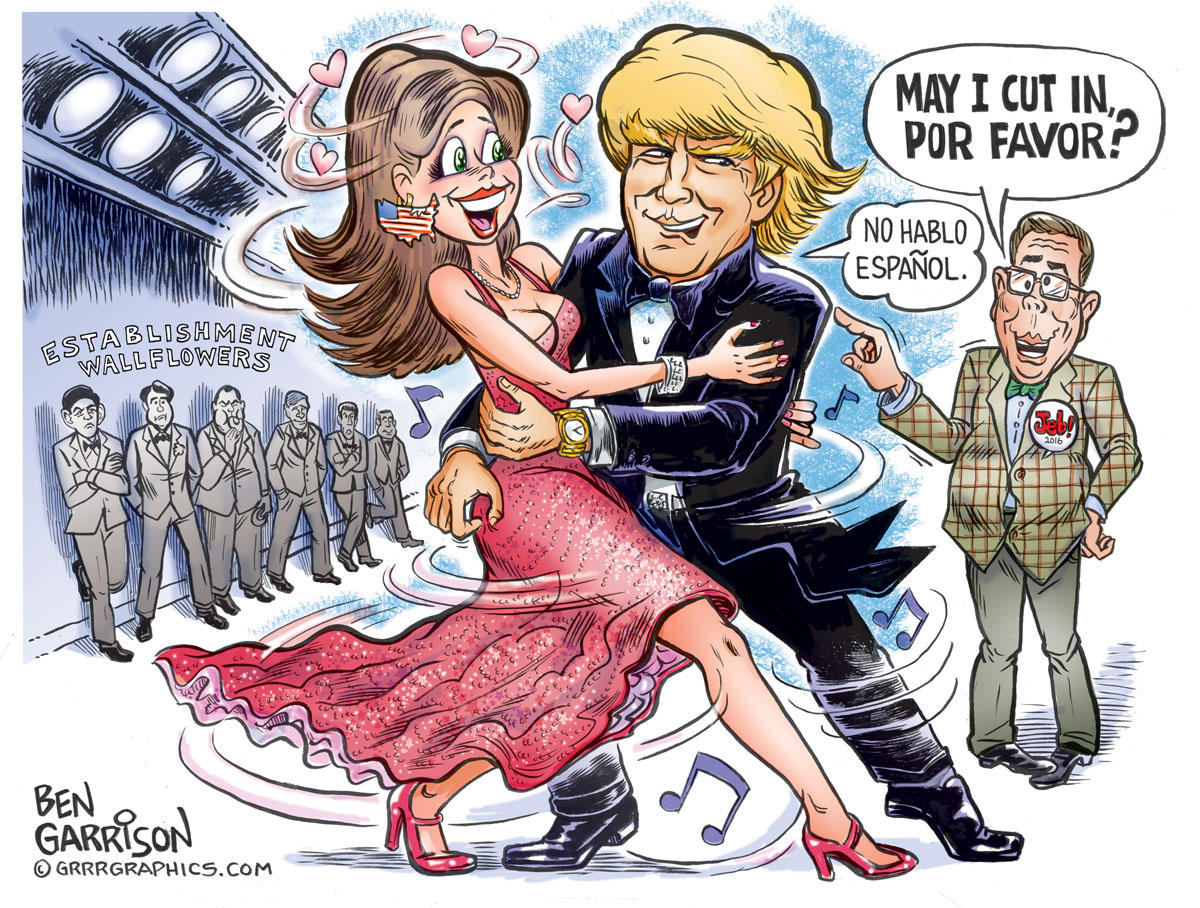 Trump Tango Dancing With The Star Ben Garrison Know