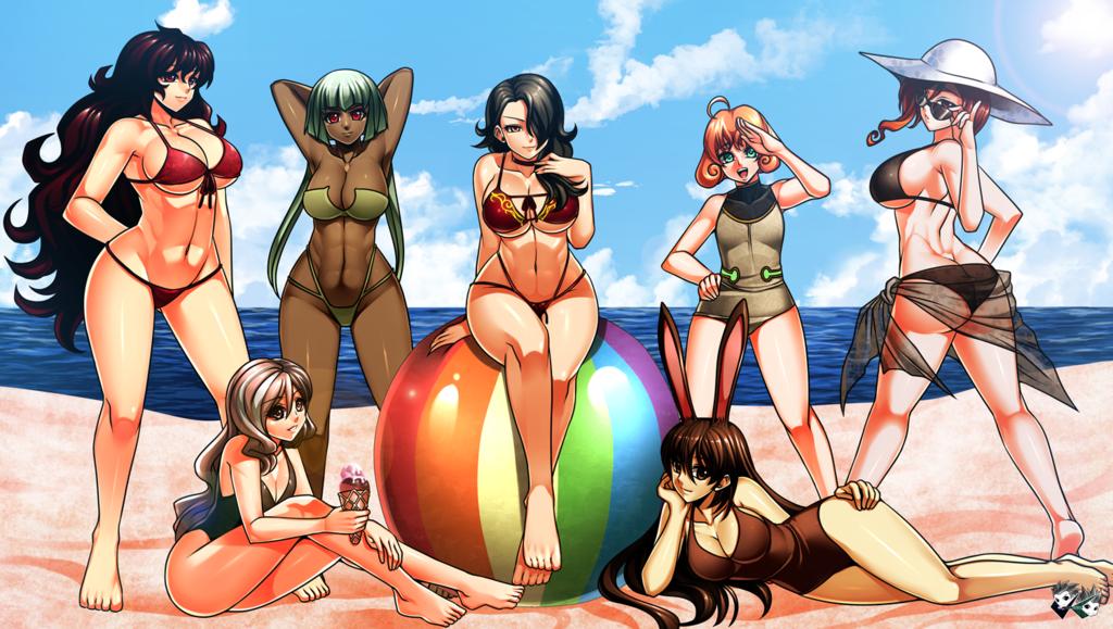 Rwby topless beach   Adult photo)