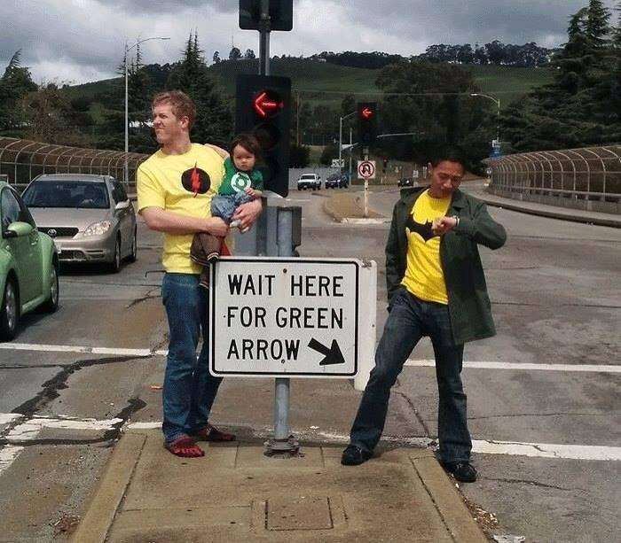 Free Comic Book Day Etiquette: Wait Here For Green Arrow