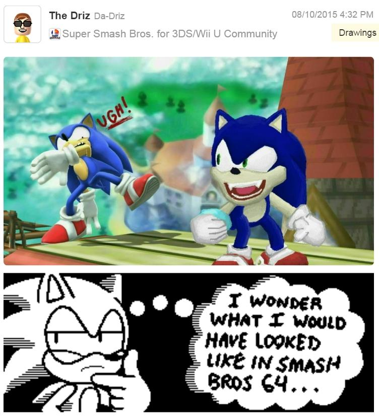 Sonic 64 Super Smash Brothers Know Your Meme