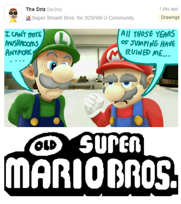 7bf old super mario bros super smash brothers know your meme