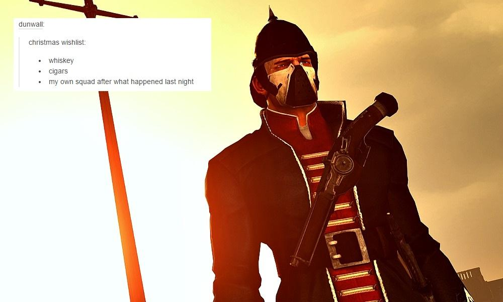 Dishonored Guards Be Like Tumblr Fandom Text Posts