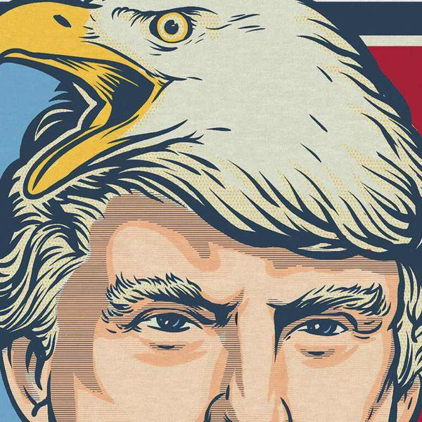 c16 eagles screeching in the distance] donald trump know your meme