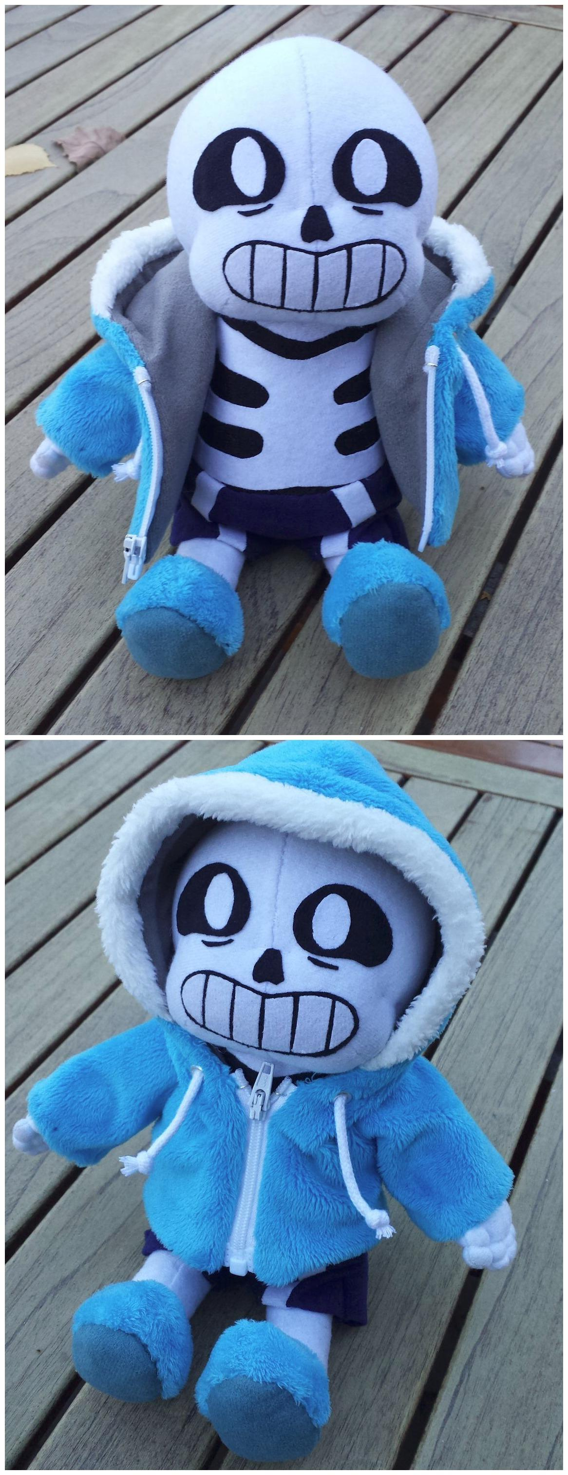 Unofficial Sans Plushie Undertale Know Your Meme