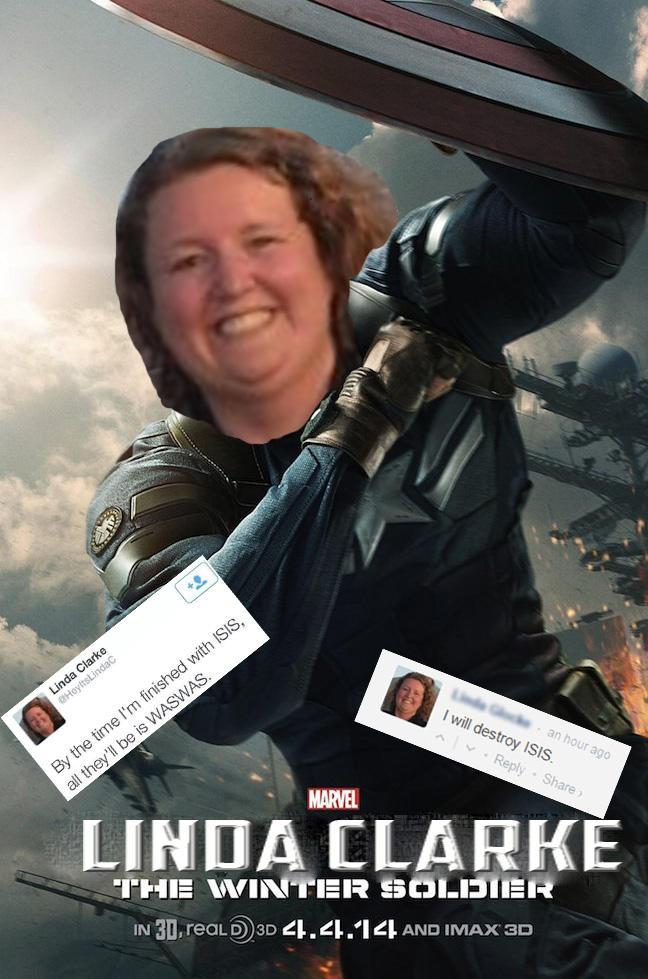 Winter Soldier Linda Glocke I Will Destroy Isis Know