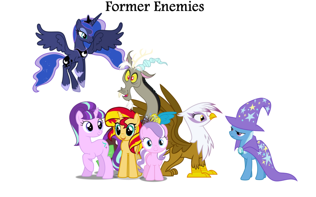 Former Enemies Club By Nukarulesthehouse1 My Little Pony