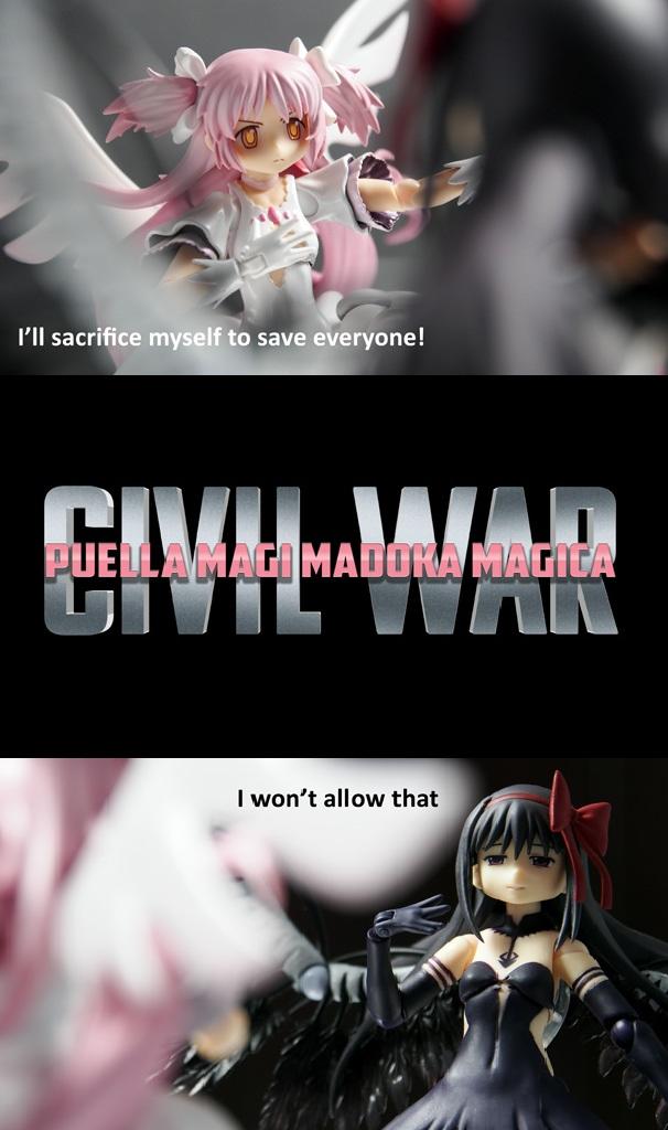 6c6 puella magi madoka magica civil war puella magi madoka magica,Puella Magi Madoka Magica Meme
