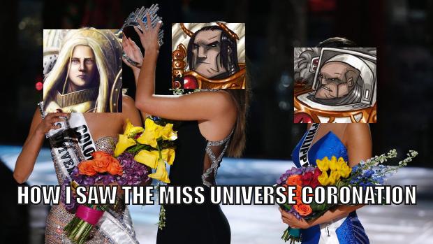 Funny Meme Miss Universe : The horus heresy coronation night steve harvey s miss universe