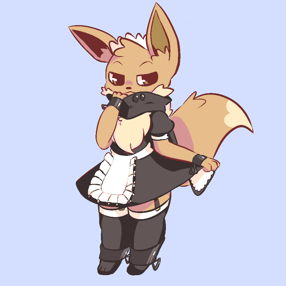 eevee maid pokémon know your meme