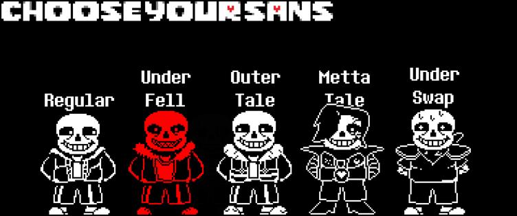 choose your sans battle sprite edition