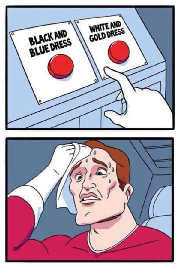 #TheDress   Daily Struggle   Know Your Meme