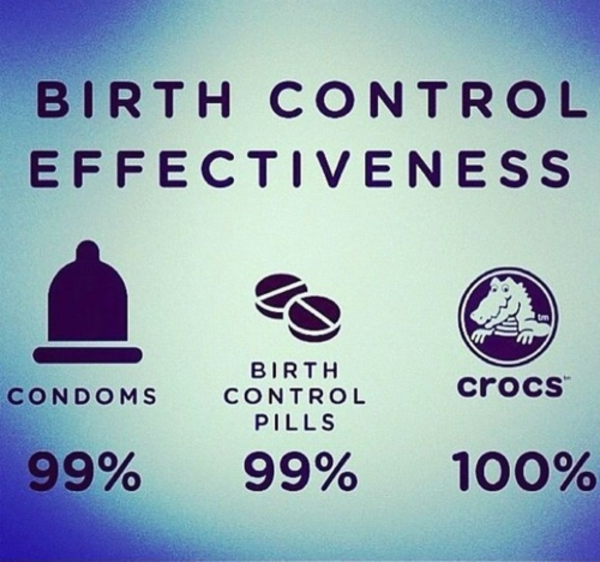 the effective and least effective forms of birth control Some people may choose to be on the birth control pill because of its effects on  menstrual  a) the least effective method for protecting against pregnancy.