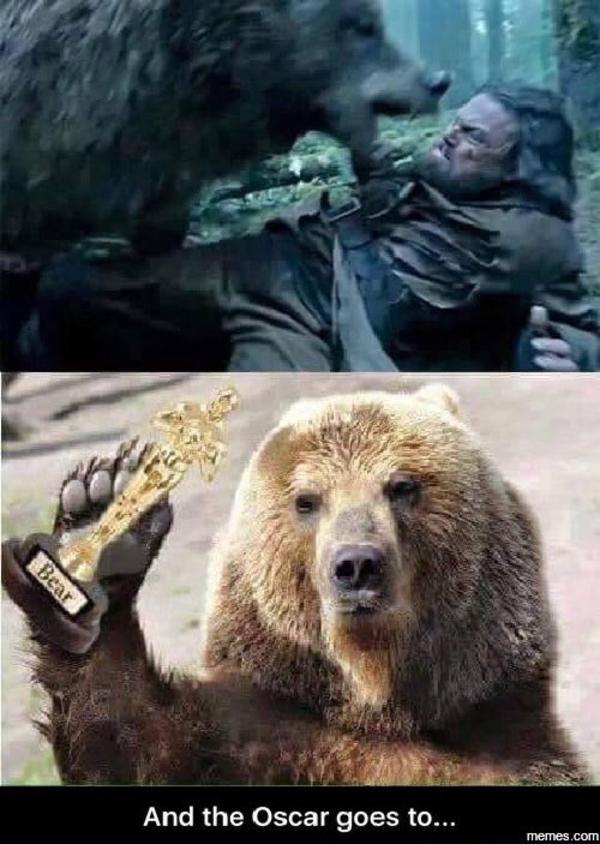 129 the revenant bear rape rumor trending images gallery know your meme