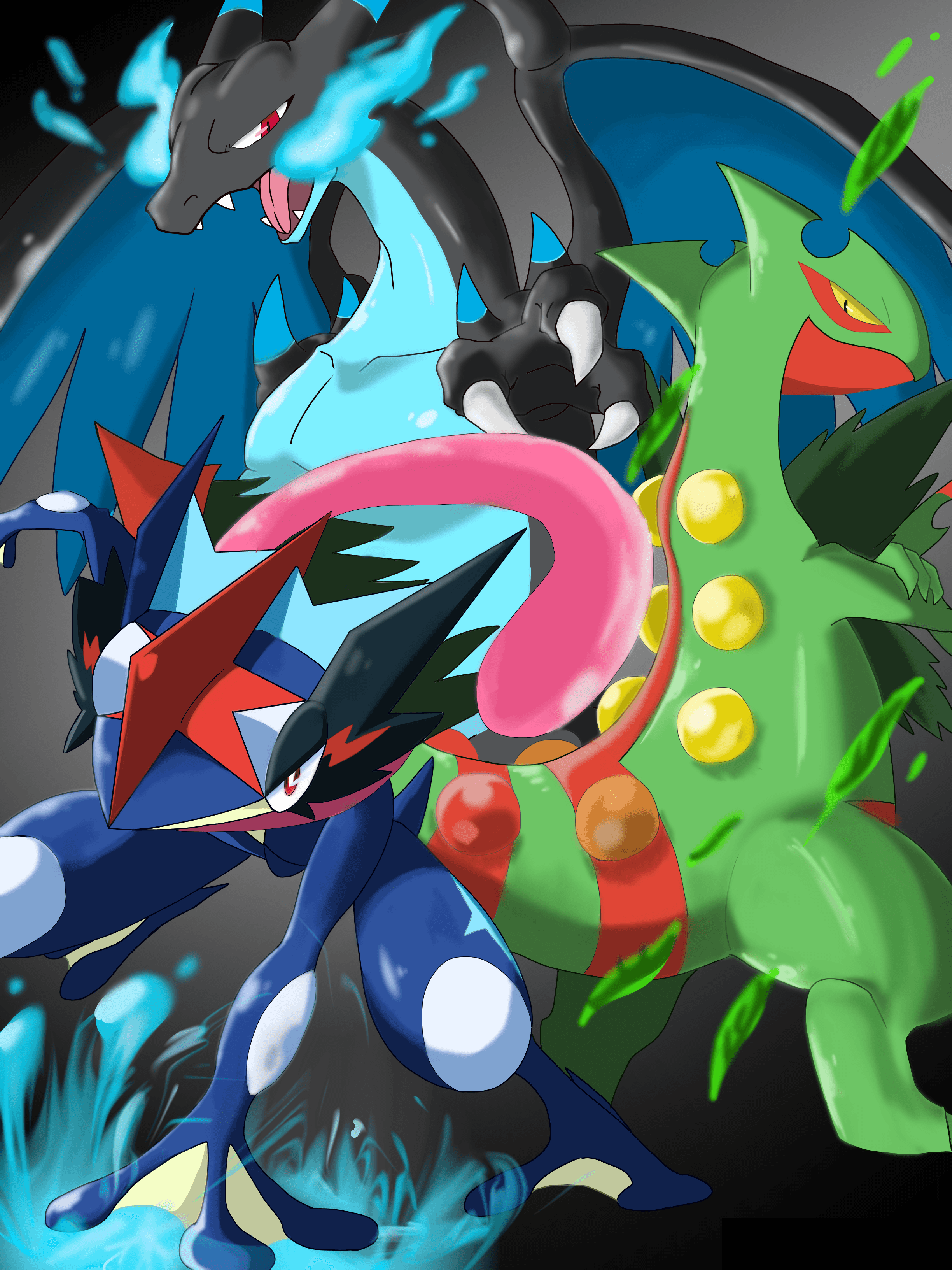 Badass Trio | Pokémon | Know Your Meme
