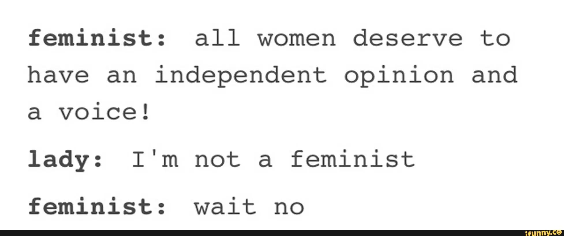 tumblr i can t think of anything original feminism