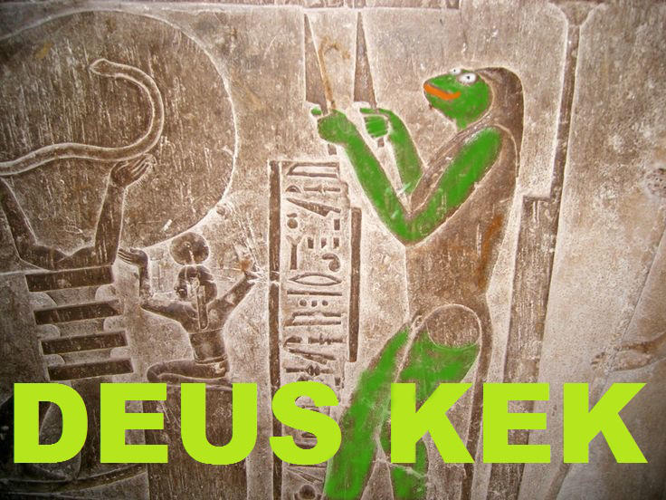 Deus Kek Meme Magic Know Your Meme