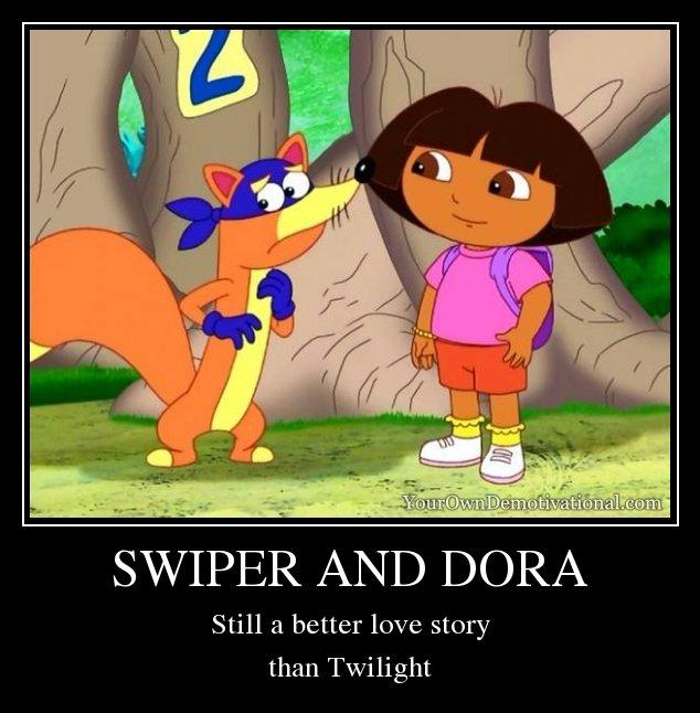 d8a swiper and dora still a better love story than twilight know