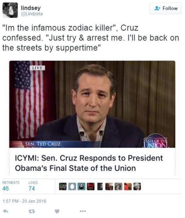 804 ted cruz zodiac killer know your meme